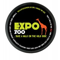 Round Plastic printed Promotional Coaster