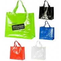 Glossy Shopper Bag Printed