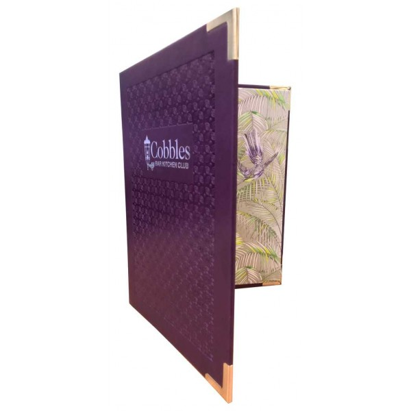 Vivella Laxey Menu Covers