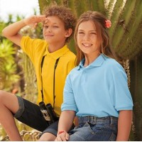 Fruit of the Loom Childrens Polo Shirts