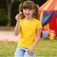 Fruit of the Loom Childrens Valueweight Tshirt