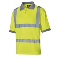 Dickies Hi Vis Polo Shirt