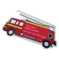 Standard Shaped Rulers - Fire Engine