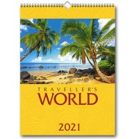 Travellers World 2021 Printed Calendars