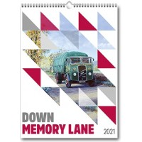 Down Memory Lane 2021 Vehicle Calendars