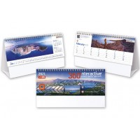 360 degrees desk calendar 2021