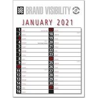 Commercial engagement Calendar 2021