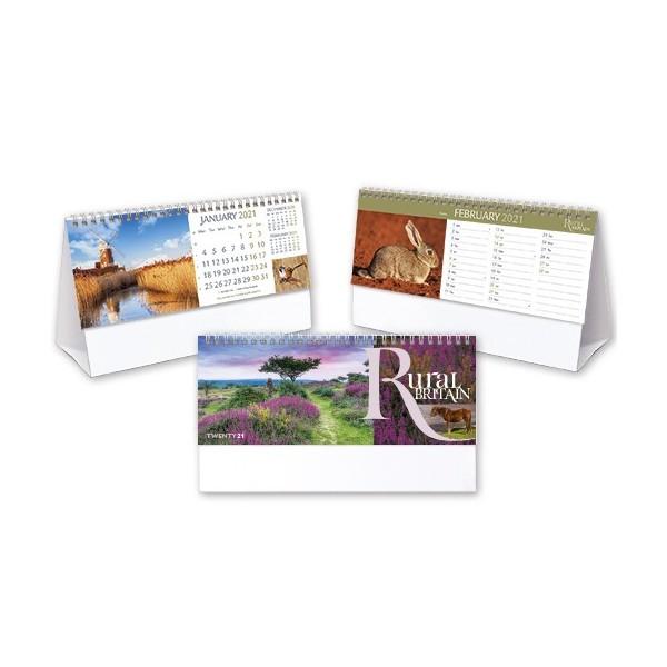 Rural Britain Desk Calendars 2021
