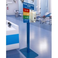 A3 Display  Freestanding Hand Sanitising Station